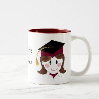Graduate You Rock Two-Tone Coffee Mug