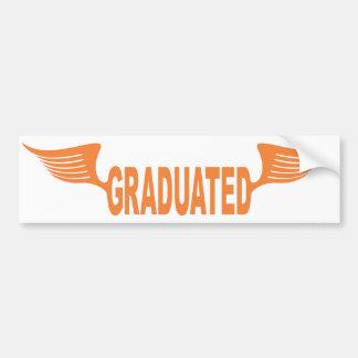 Graduated Bumper Sticker