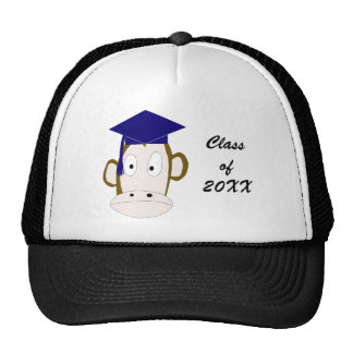Graduated Monkey Hat Template