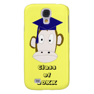 Graduated Monkey iPhone 3G Case Template Samsung Galaxy S4 Cover