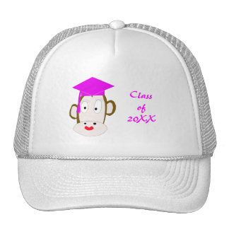 Graduated She-Monkey Hat Template