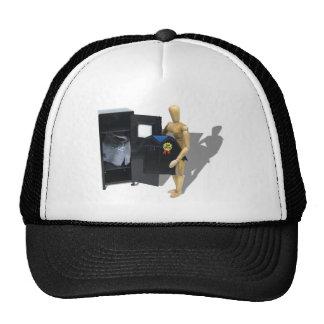 GraduateLocker051009shadows Trucker Hat