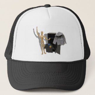 GraduateLockerCelebrate051009shadows Trucker Hat