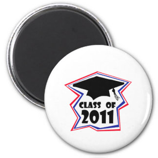 Graduating Class of 2011 2 Inch Round Magnet