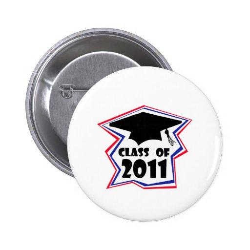Graduating Class of 2011 Pinback Buttons