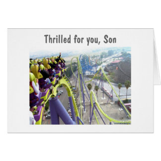 GRADUATING SON - FROM SINGLE PARENT GREETING CARDS