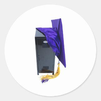 Graduation040309 Pegatina Redonda