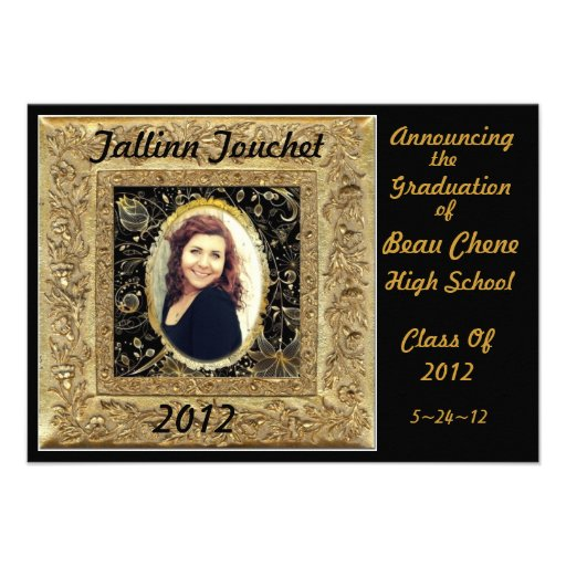 Graduation2012 Comunicado Personalizado
