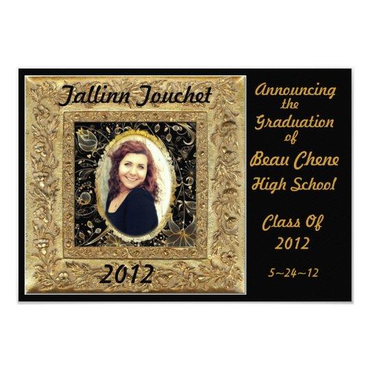 """Graduation2012 Invitación 3.5"""" X 5"""""""
