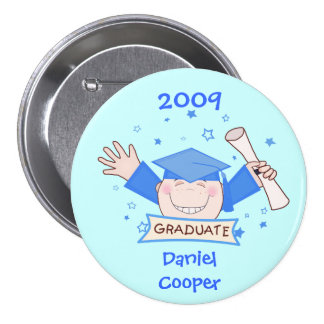 Graduation 2009 Boys Button