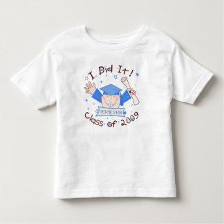 Graduation 2009 Boys Super Star Toddler T-shirt