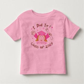 Graduation 2009 Girls Pink T-Shirt
