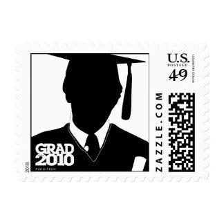 Graduation 2010 Cap Gown Postage