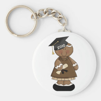 graduation 2010 gingerbread girl key chains
