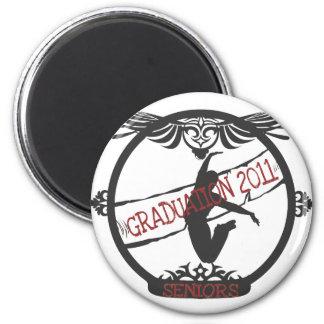 Graduation 2011 2 inch round magnet