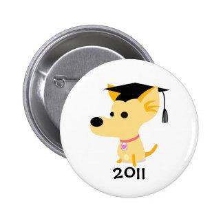 Graduation 2011 Dog Button