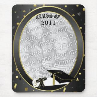 Graduation 2011 Insert own Grad photo Mouse Pad