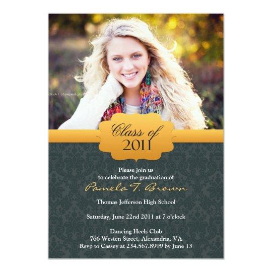 Graduation 2011 Photo Flat Invitation