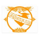 Graduation 2011 post card
