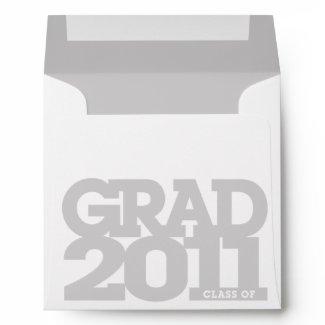 Graduation 2011 Square Envelope Tile envelope