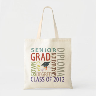 Graduation 2012 canvas bag