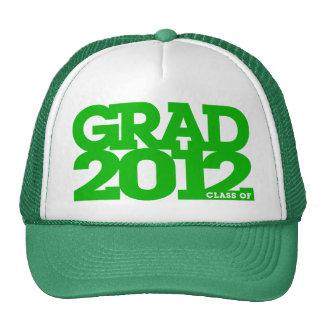Graduation 2012 Hat Green