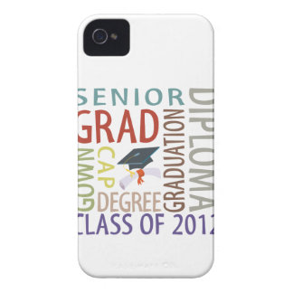 Graduation 2012 iPhone 4 cover