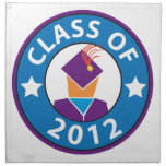 Graduation 2012 printed napkin