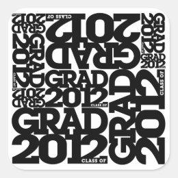 Graduation 2012 Sticker 1