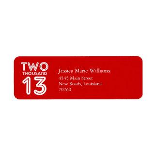 Graduation   2013 label