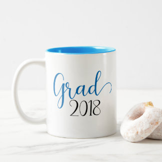 Graduation 2018 blue mug