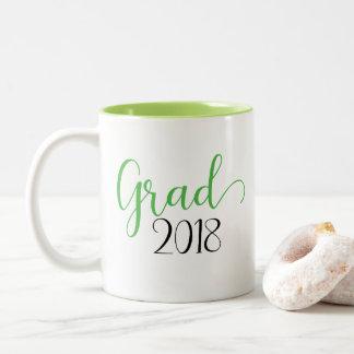 Graduation 2018 green mug