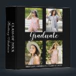 "Graduation 4 Photo Keepsake 3 Ring Binder<br><div class=""desc"">Graduation 4 Photo Binder</div>"