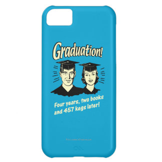 Graduation: 4 Years, 2 Books Case For iPhone 5C