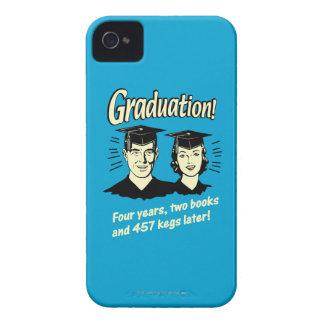 Graduation: 4 Years, 2 Books iPhone 4 Case