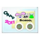 Graduation 5x7 Paper Invitation Card