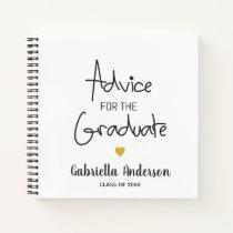 Graduation Advice for Graduate Notebook