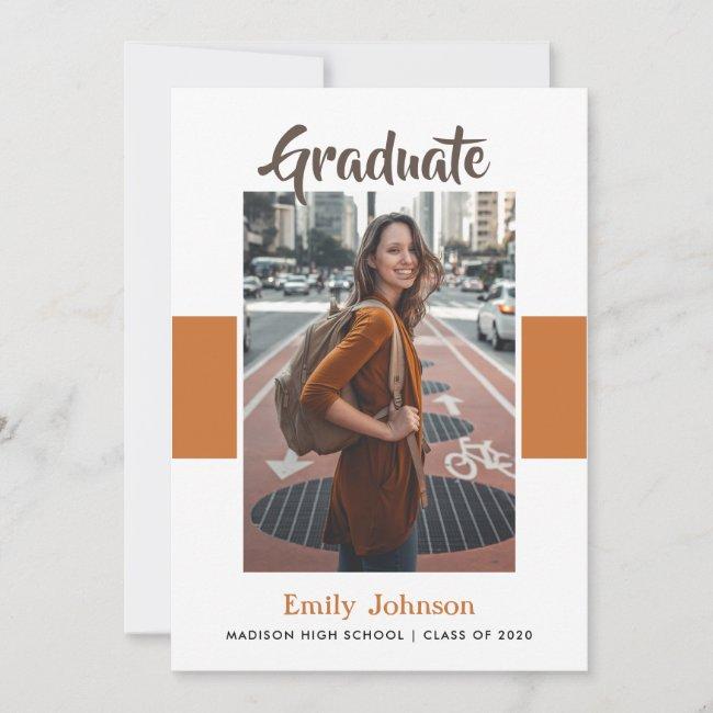 Graduation Announcement Card & Envelopes
