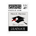 Graduation Announcement Custom Postage Stamps