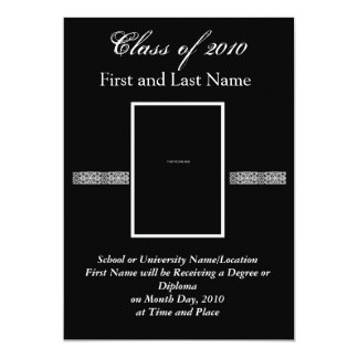 Graduation Announcement or Invitation