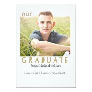 Graduation Announcement photo card