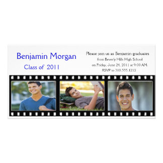 Graduation Announcement Photo Card Filmstrip