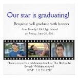 Graduation Announcement Photo Card Filmstrip
