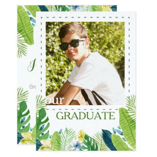 Graduation Announcement photo template