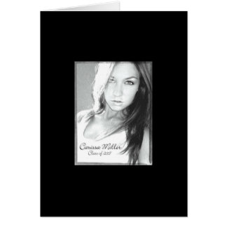 graduation announcement stationery note card