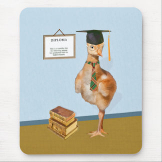 Graduation, Baby Sandhill Crane Mouse Pad