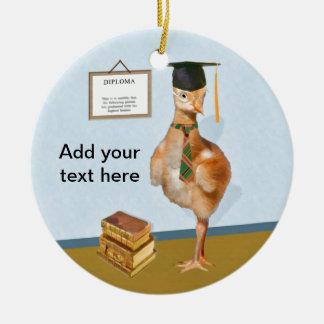 Graduation, Baby Sandhill Crane Christmas Ornaments