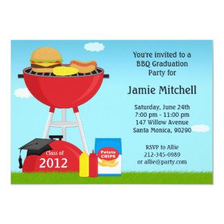 Graduation BBQ Party Invitation Class of 2013