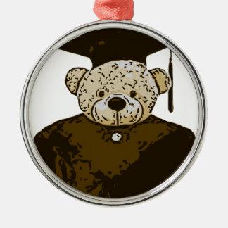 Graduation Bear Christmas Ornaments