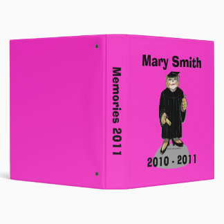 Graduation Binder for Female Graduate